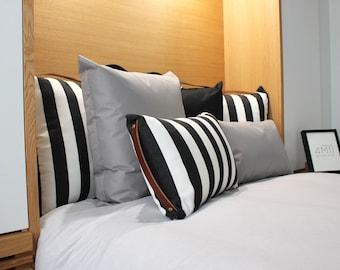 outdoor cushion, outdoor pillow, Scandinavian cushion, rectangle cushion, minimalist cushion, minimalist pillow, indoor pillow