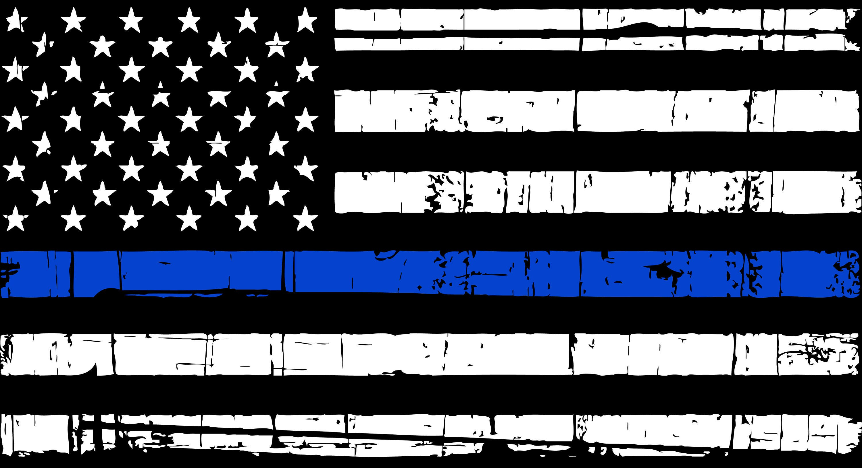 Image result for thin blue line american flag