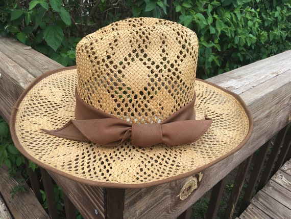 Ladies Western Straw Hat, Happy Cappers,