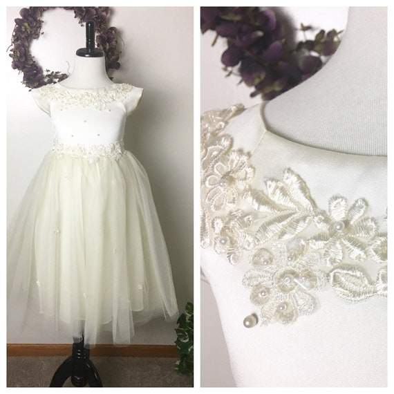 Special Occasion Girl's Dress, Size 6