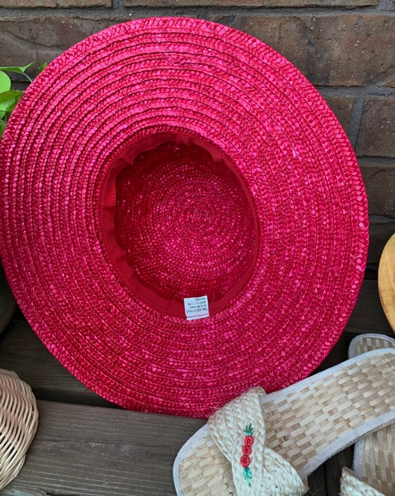 Summer Straw Hat, Purse, and Rice Straw Sandals S… - image 9