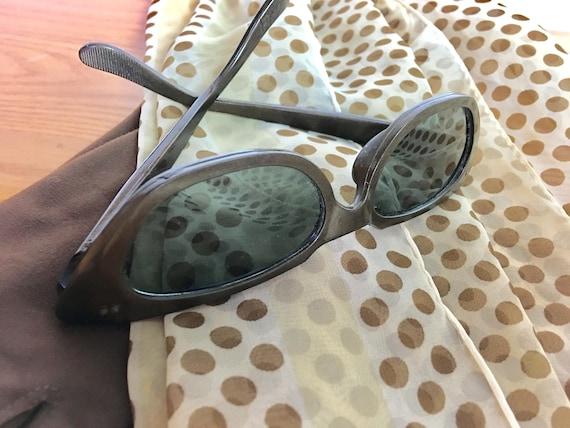 Vintage Celluloid Willson Cat Eye Sunglasses, 1950