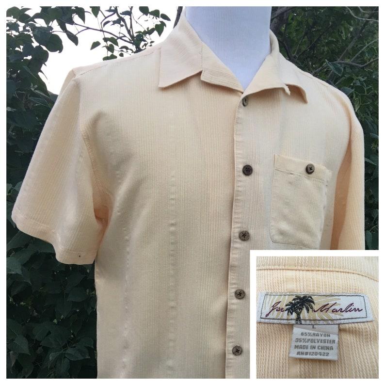 Joe Marlin Hawaiian Shirt Size Large