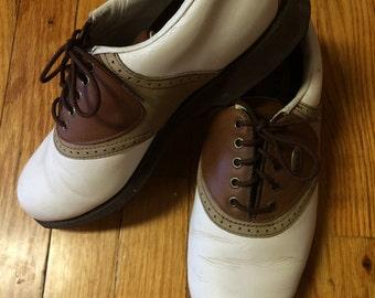 Vintage Etonic Women's Golf Shoes, Size 7 1/2 M