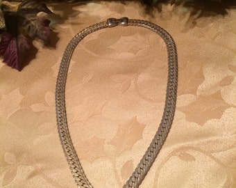 Vintage Goldtone Chain with Rhinestones Stunner, 20""