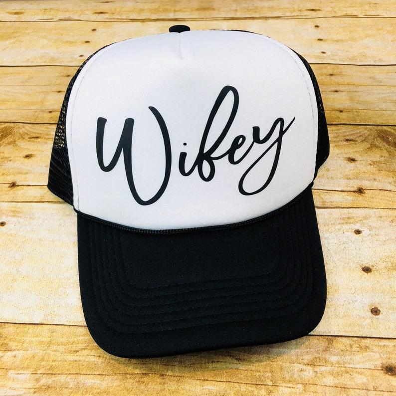 3d814883 Wifey Hat Wifey Cap Wifey Trucker Hat Wifey Baseball Hat   Etsy