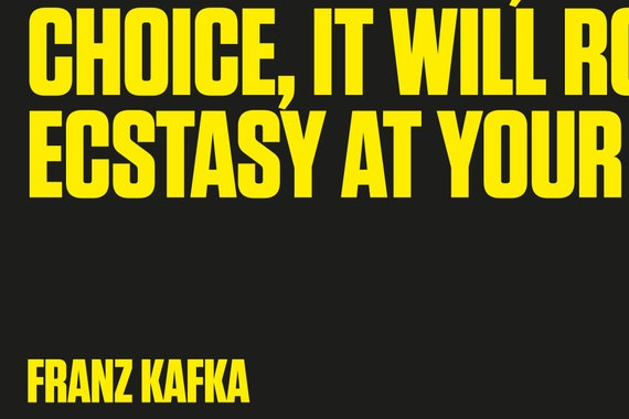 """Franz Kafka Quote Print """"You do not need to leave your room \"""