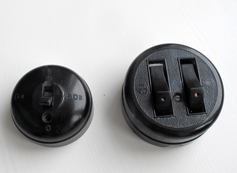 Turn Knobs Retro Socket Electric Light Switch Vintage Electrical Soviet Electrical Tools