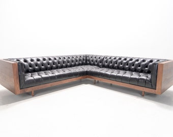 Pleasing Sectional Sofa Etsy Andrewgaddart Wooden Chair Designs For Living Room Andrewgaddartcom