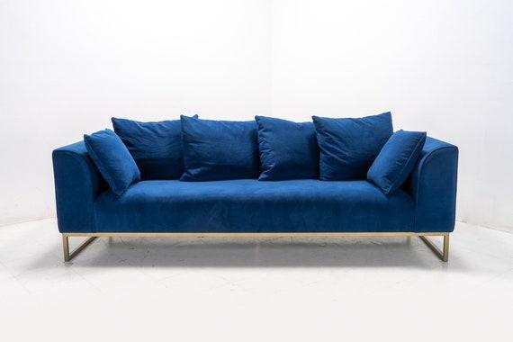 Modern Contemporary Velvet Sofa