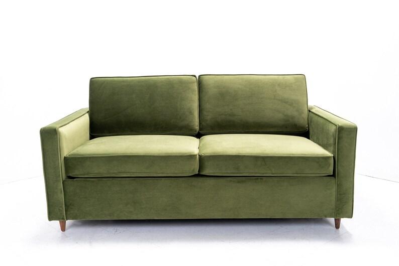 Mid Century Modern Sleeper Sofa bed Knoll style   Etsy
