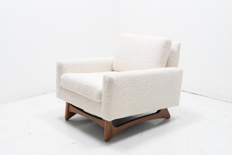 Awesome Mid Century Modern Danish Pearsal Accent Chair Best Image Libraries Counlowcountryjoecom
