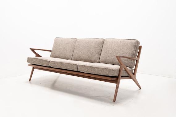 Mid Century Modern Selig Z style Sofa