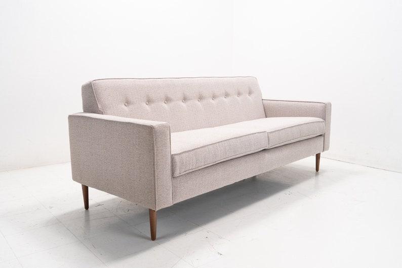 Mid Century Modern Danish Sofa Knoll style | Etsy