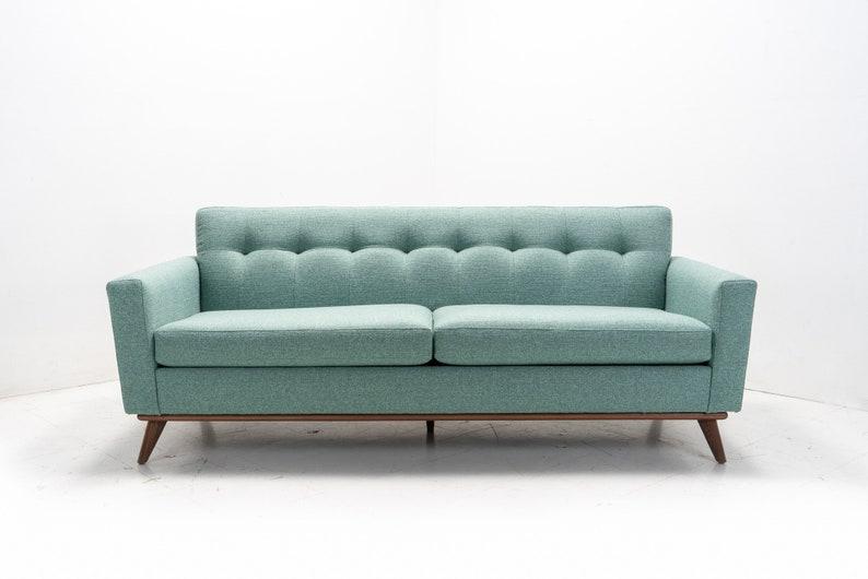 Mid Century Modern Danish Sofa | Etsy