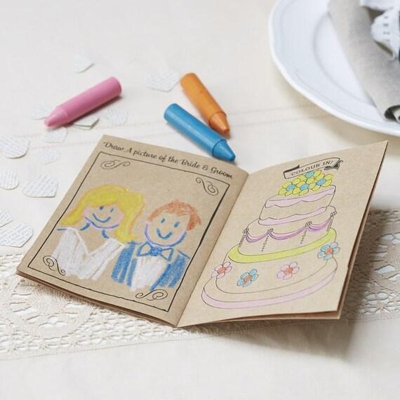 Vintage Hochzeit Kinder Aktivitat Buch Hochzeit Malbuch Etsy