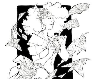 Paper Menagerie Art Print