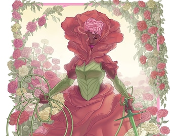 Rose Queen Art Print