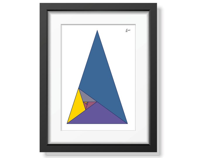 Fibonacci triangles 04 [A4 size]