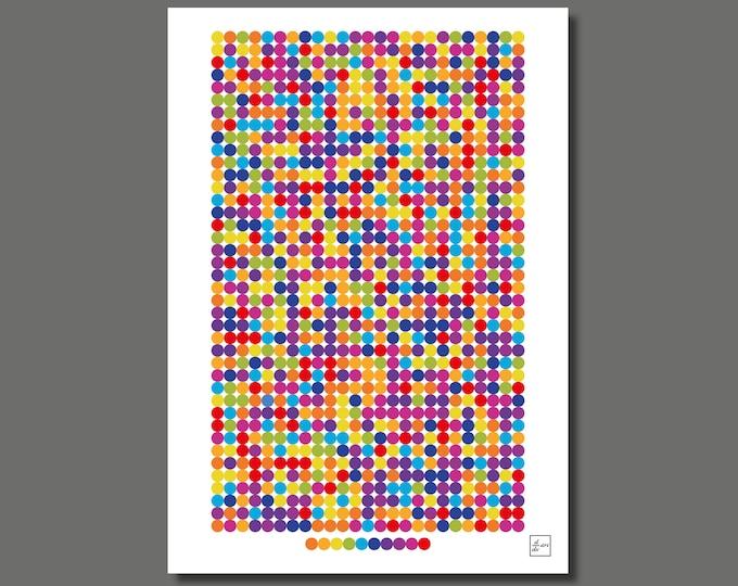 Pi 1000 02 [A3 size art print]