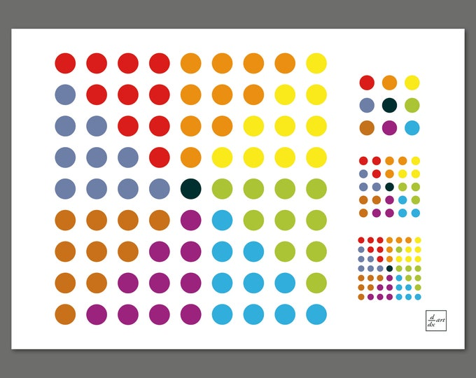 8n+1 [A4 size art print]