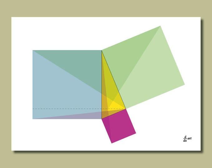 Pythagoras 05 [A4 size art print]