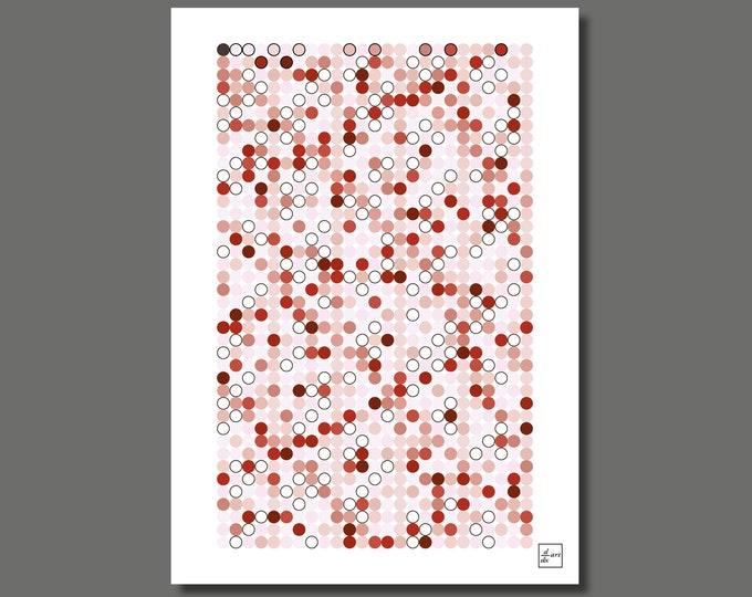 Primes 1000 13 [A3 size art print]