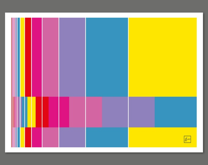 Fibonacci bars 06 [A4 size]