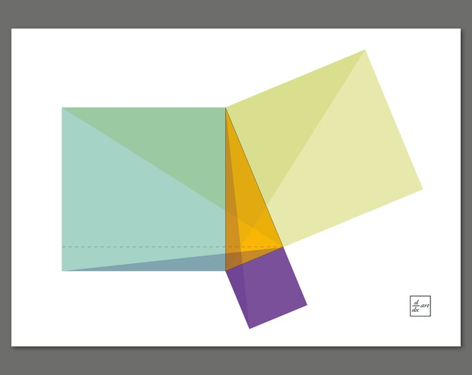 Pythagoras 01 [A4 size art print]