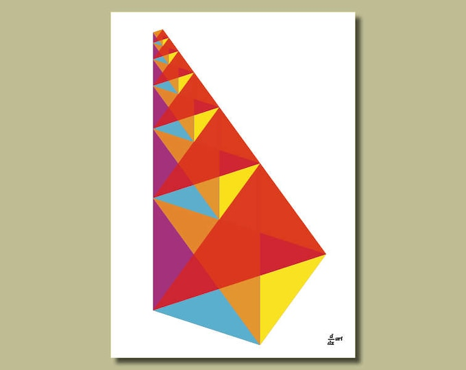 The Lute of Pythagoras 01 [A4 size art print]
