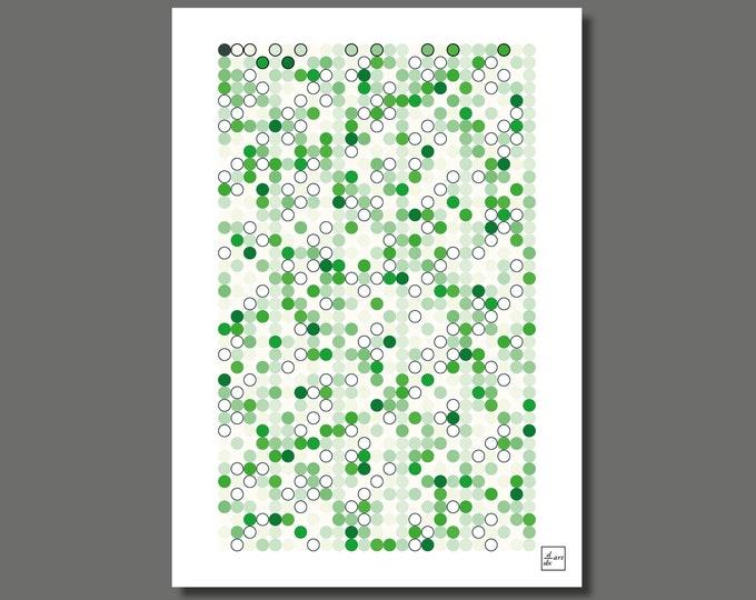 Primes 1000 11 [A3 size art print]