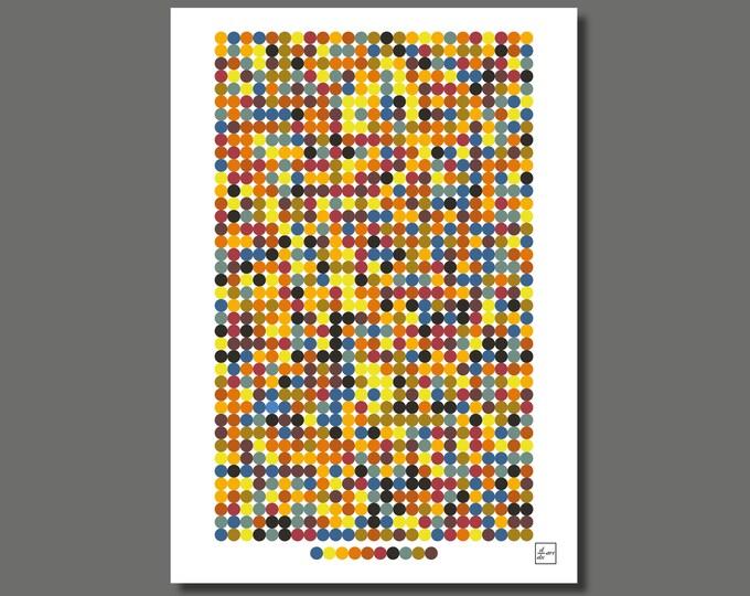 Pi 1000 03 [A4 size art print]