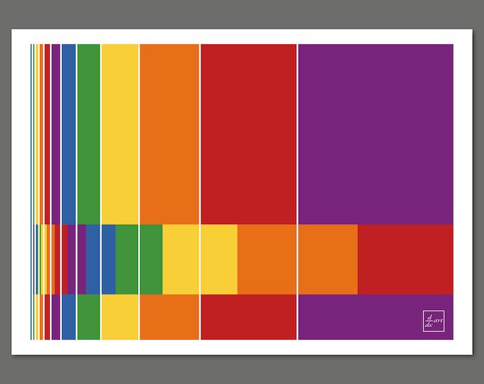 Fibonacci bars 04 [A4 size]