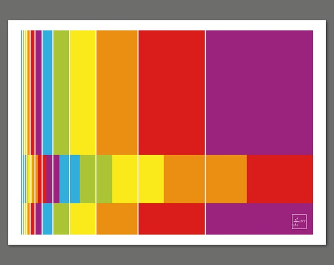 Fibonacci bars 02 [A4 size]