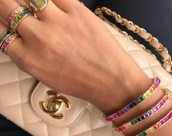 4f18bc858682e9 Tennis Bracelet, Women's Tennis Bracelets, Tennis Bracelet Womens, Cubic  Zirconia Tennis Bracelet, CZ Tennis Bracelet, Tennis Bracelets For