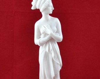 Persephone Greek Goddess Marble Sculpture Handmade Figurine Classical Craft Statue 22.50cm