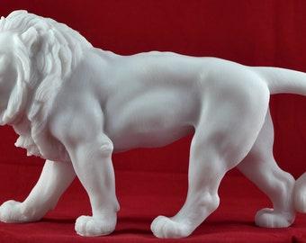 Standbeeld van de leeuw etsy