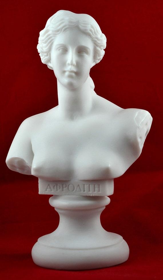 buste de v nus aphrodite statue grecque amour beaut d esse. Black Bedroom Furniture Sets. Home Design Ideas