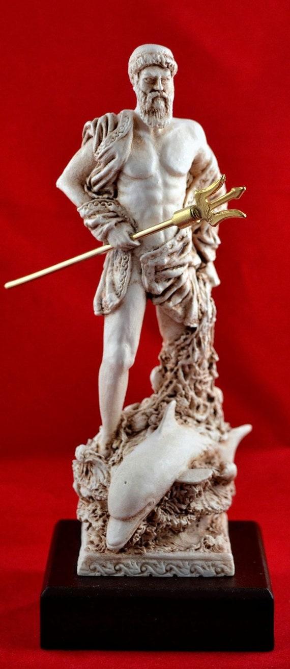 Poseidon greek statue sea god NEW Greek Mythology