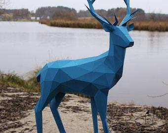 Deer 2 - digital template