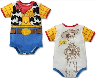 1dd7b5cb2 Toy Story Woody Little Spring Onesie - Personalized with Baby's Name