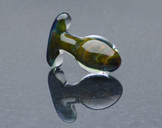 Glass Anal Plug - Large - Terra Bella