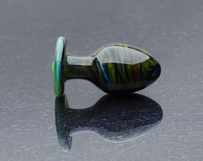 Glass Anal Plug - Medium - Marigold