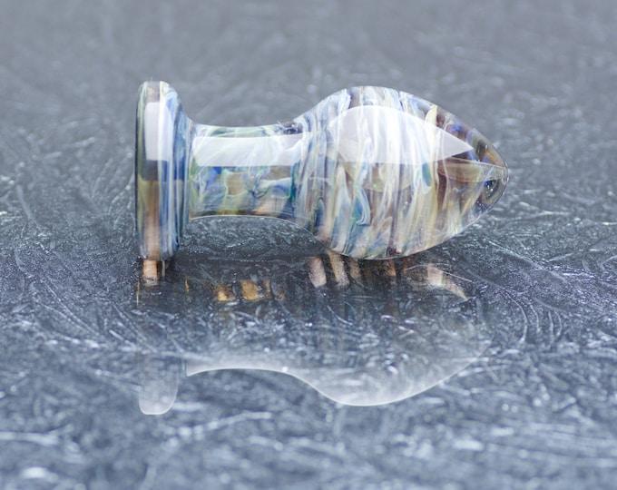 Medium Glass Anal Plug - Poseidon's Escape