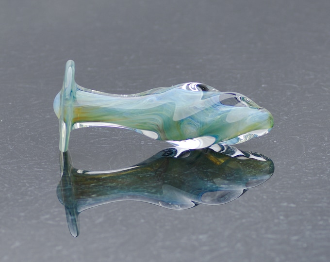 Glass Anal Plug - Extra Small - Atlantis Twist