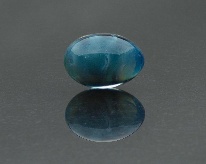 Glass Kegel Egg - Cloudy Days - Borosilicate Glass Yoni Egg