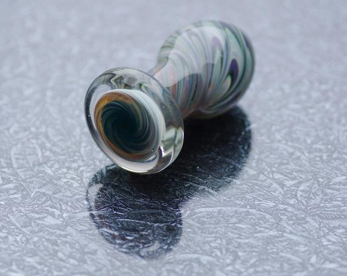 Glass Anal Plug - Trippy Hippy