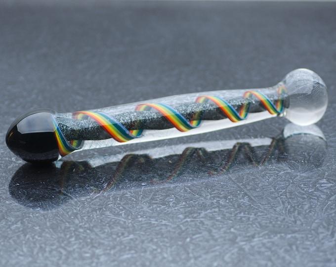 Glass Dildo - Queer Corkscrew