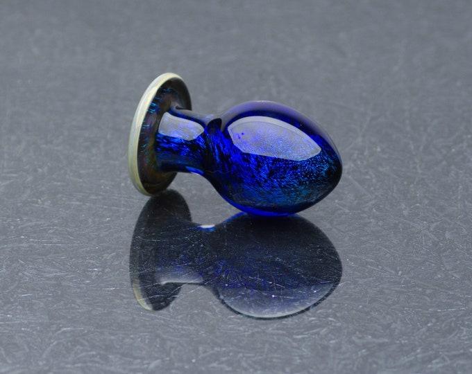 Glass Anal Plug - Medium - Shine