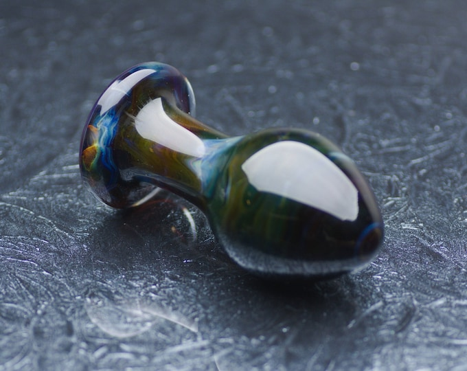 Large Glass Anal Plug - Paradise Found